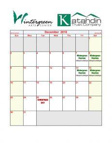 December-2018-Calendar
