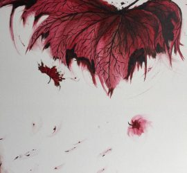 Falling Red Leaf_Joanna Doughty