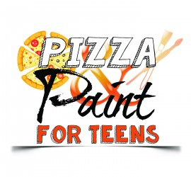 pizza paint teen logo