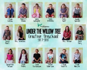 2017-2018 Under the Willow Tree Class