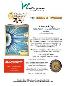 2018_04_27_Flyer_Pizza n Art for TEENS and TWEENS
