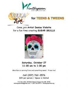 2018_10_27_Sugar Skulls_Pizza n Art for TEENS and TWEENS