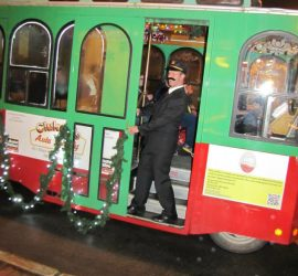 Wintergreen Conductor_Molly the Trolley