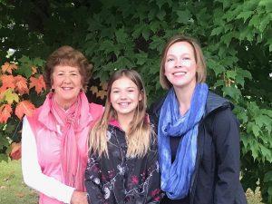 Margaret, Zoey, Gretchen Violette