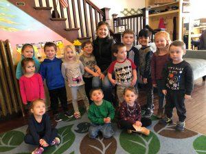 Melissa St Pierre Visits Wintergreen Preschool